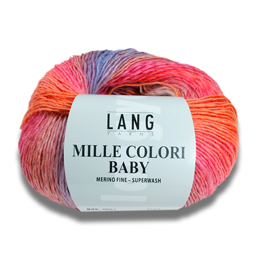 Mille Colori Baby fra Langyarns